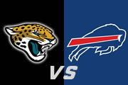 Jags favored over Bills in Wild Card game Sunday