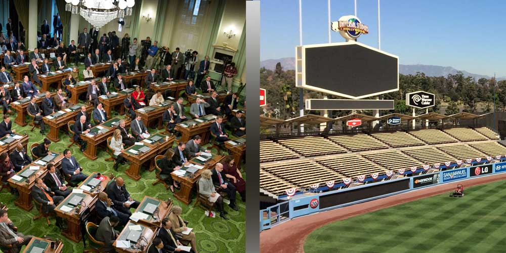 MLB wants sports betting to happen in California