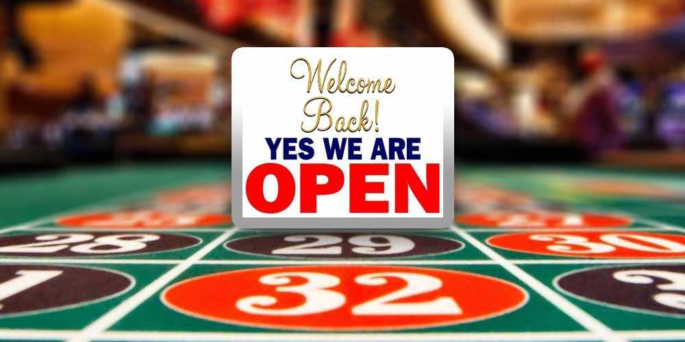 Casino Re-openings