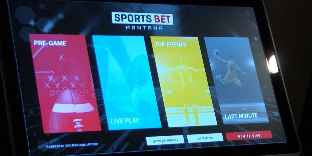 Montana Sports Betting Kiosk