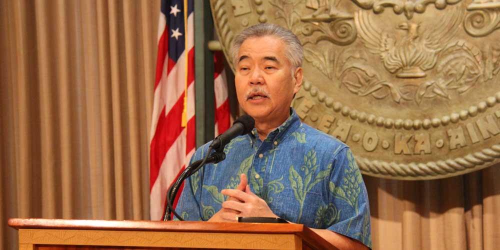 Governor David Ige