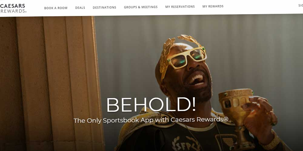 Caesars Entertainment's Online Sports Betting Platform